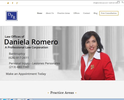 Romero Law Offices - Home Page