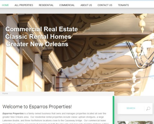 Esparros Properties - Home Page