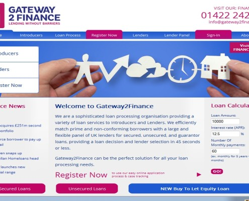 Gateway2Finance - Home Page
