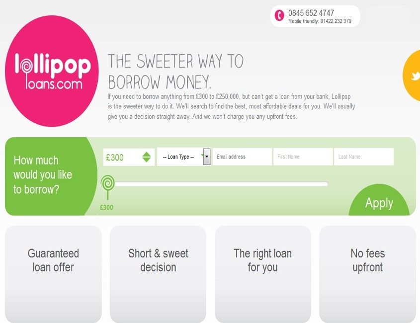 Lollipop Loans - Home Page