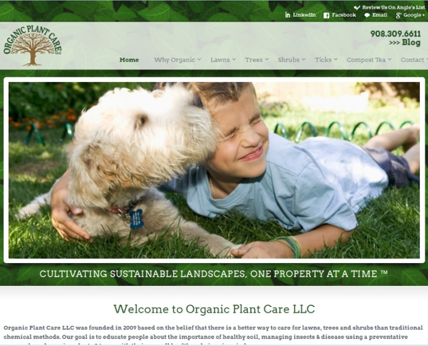 Organic Plant Care - Home Page