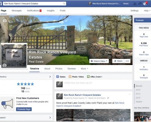 Rim Rock Ranch - Facebook Page