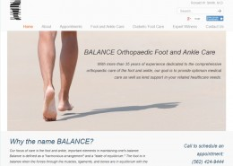 Balance Ortho Foot - Home Page