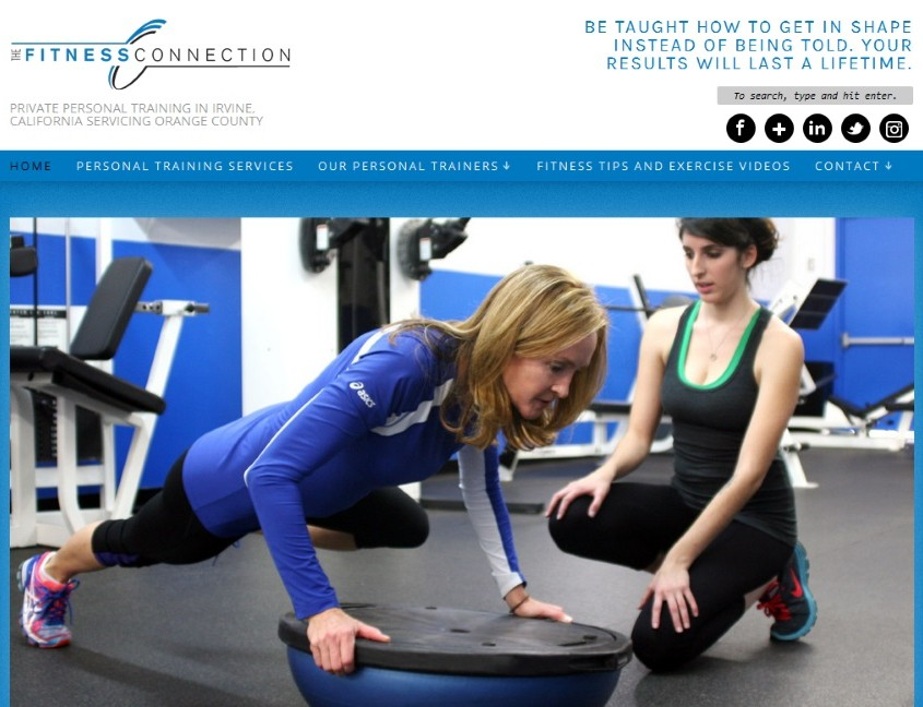 The Fitness Connection - Home Page