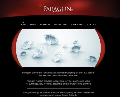 Paragon Trading - Home Page