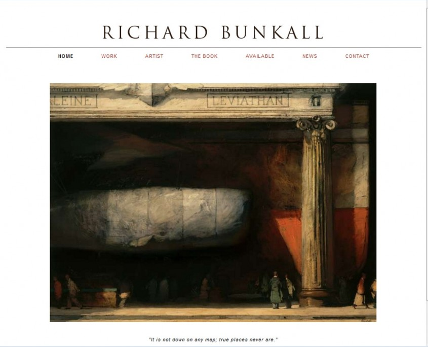 Richard Bunkall - Home Page