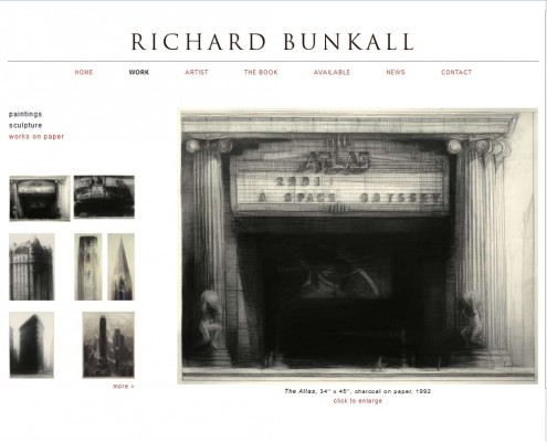 Richard Bunkall - Works