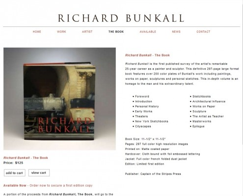Richard Bunkall - The Book