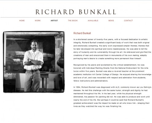 Richard Bunkall - The Artist