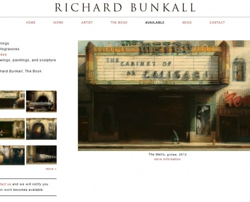 Richard Bunkall - Available Work