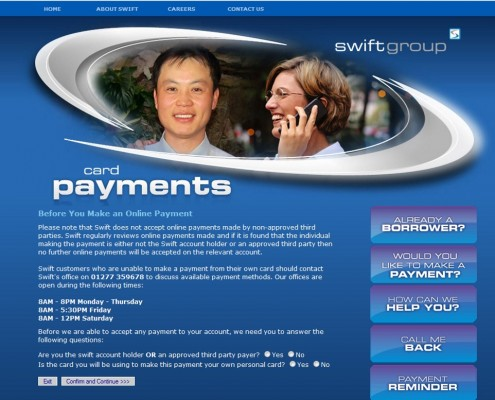 The Swift Group - Card Payments