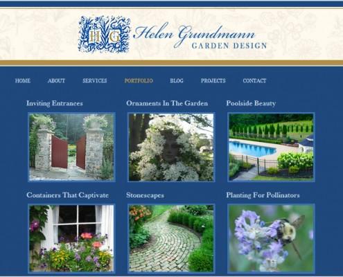 Helen Grundmann Garden Design Portfolio Page