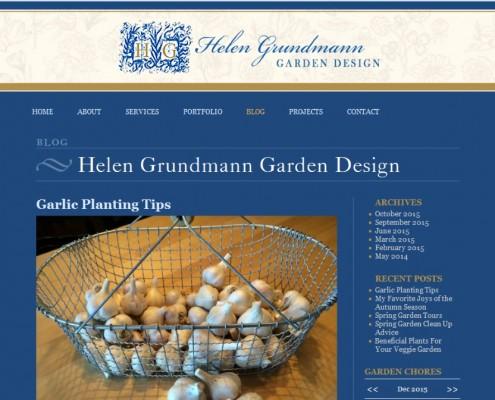 Helen Grundmann Garden Design Blog Page